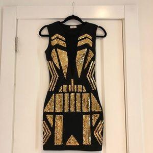 Tobi Sequined Bodycon Dress